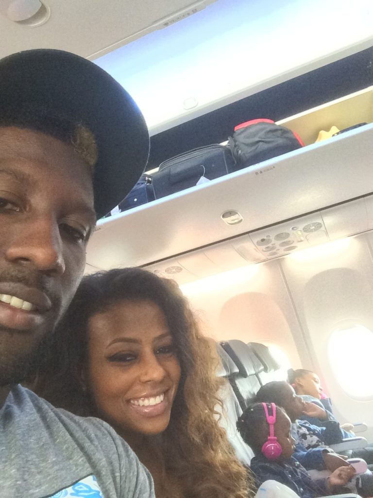 FabVMom and Marcus Trufant
