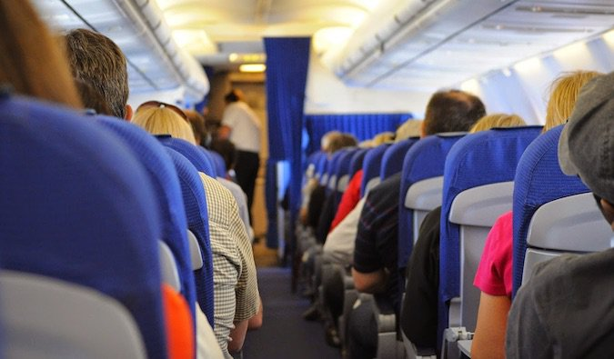 Fear of flying on airplanes