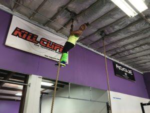 Me, rope climbing