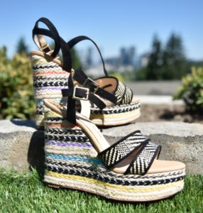 My platform sandals have a little bit of color and flare. They are perfect for summer!