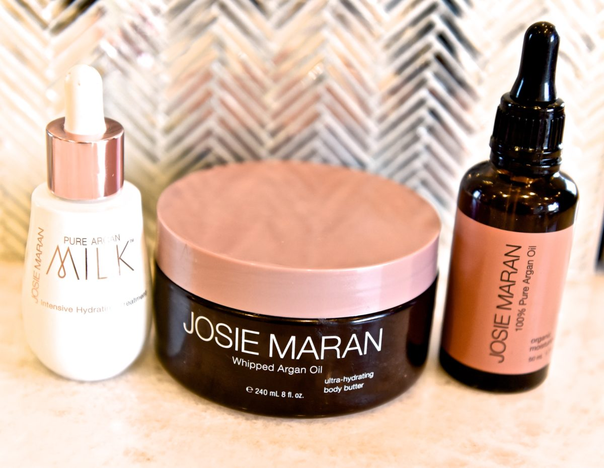 I'm in love with the new Josie Maran Skincare line
