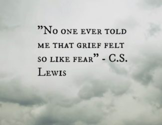 Grief is a powerful thing that manifests itself in many forms.