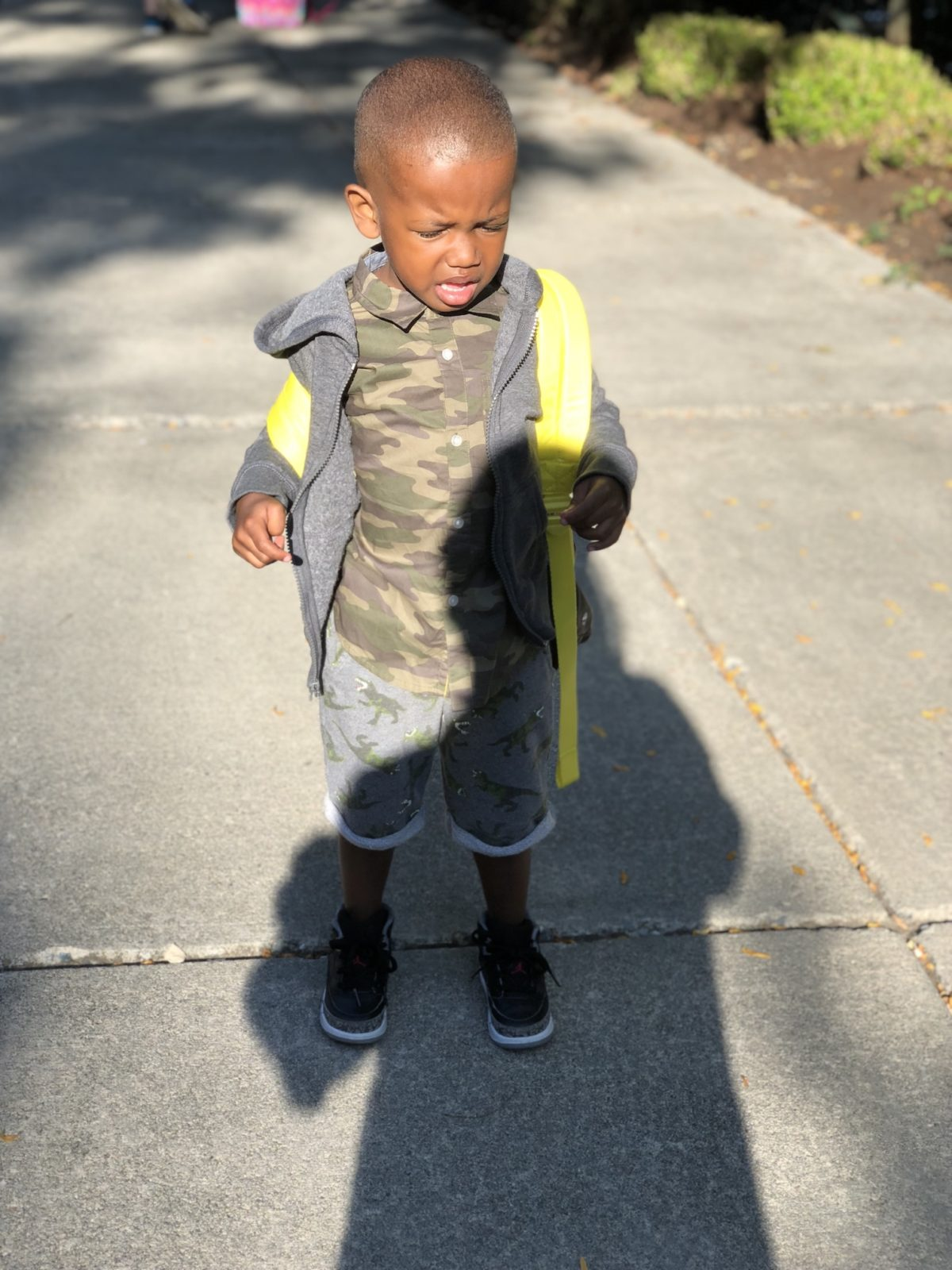 Sending my baby boy to preschool was hard on him and me
